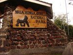 Gorilla-Trekking: Entrance of Mgahinga nationalpark in Uganda