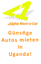 Alpha Rent a Car - Günstige Autos mieten in Uganda!