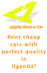 Alpha Rent a Car - Professional Car Rental Services for Uganda!