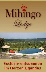 Mihingo-Lodge im Lake-Mburo-Nationalpark