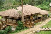 Buhoma Lodge im Bwindi Nationalpark