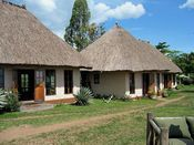 Ndali Lodge im Bwindi Nationalpark