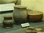 Traditional handicrafts from Uganda: pots