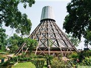 Martyrs Shrine in the near of Kampala, Uganda