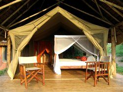 Tents at Mihingo Lodge